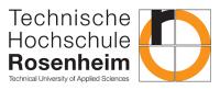 Технический университет прикладных наук Розенхайм, Hochschule Rosenheim/Rosenheim, HS Rosenheim/Rosenheim