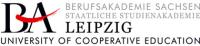 Саксонская государственная профессиональная академия Лейпциг, Berufsakademie Sachsen/Leipzig, BA Sachsen/Leipzig