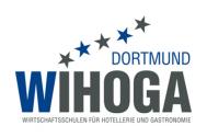 Университет гостиничного бизнеса, гастрономии, торговли и услуг Дортмунд, Wirtschaftsschulen für Hotellerie, Gastronomie, Handel und Dienstleistungen, WIHOGA Dortmund