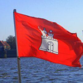 Высшее образование в Германии Флаг Гамбурга