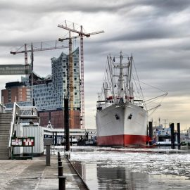 Высшее образование в Германии Гамбург порт