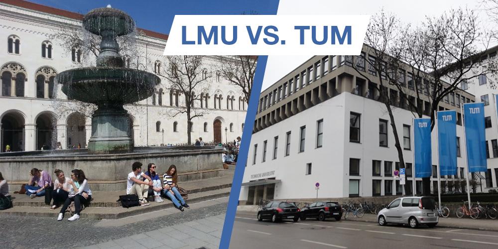 1 LMU vs. TUM: кто круче? Мнение студентов