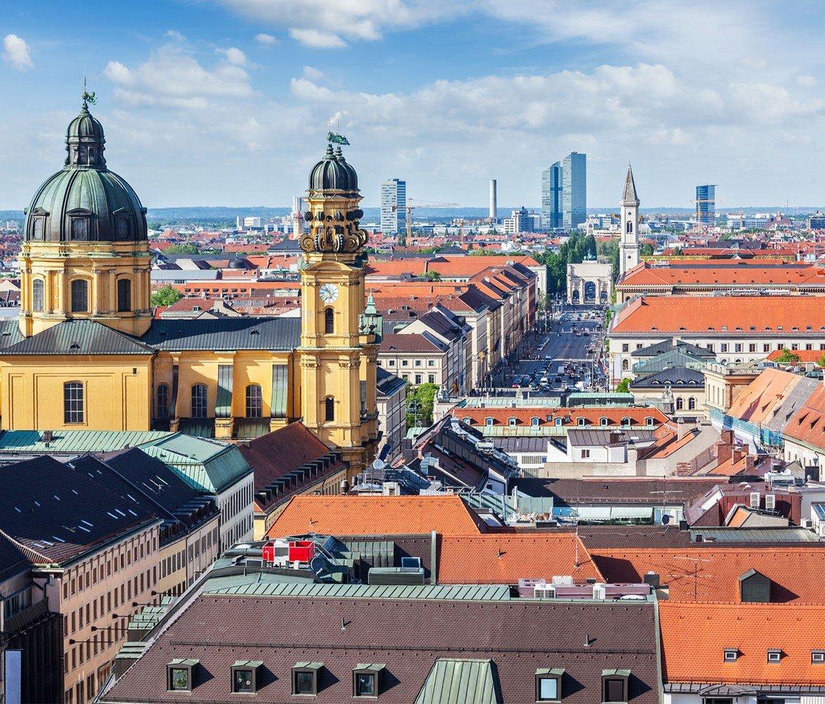 Aerial view of Munich 10 лучших студенческих городов Германии