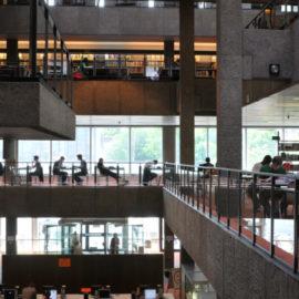 Studierende in der Universitätsbibliothek