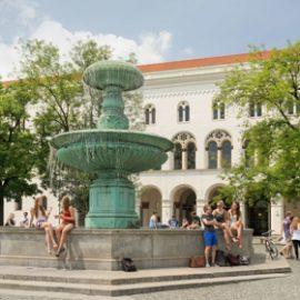 Мюнхенский университет Людвига-Максимилиана LMU_