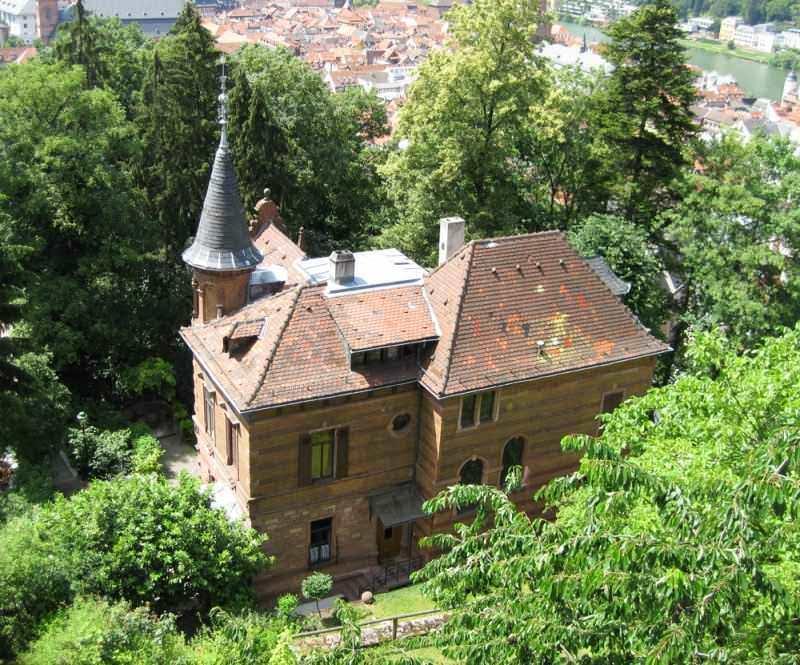 Высшее образование в Германии Гейдельбергский университет, вид на старый дом