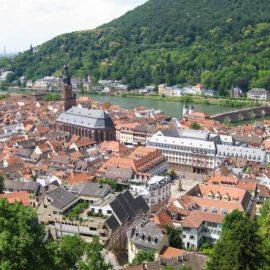 Высшее образование в Германии Гейдельбергский университет, вид на старый город и мост